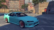 Nissan Silvia S15 v1.0 (with spoiler) for Mafia II miniature 5