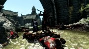Dead body collision fix for TES V: Skyrim miniature 3