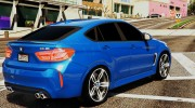 BMW X6M F16 Final for GTA 5 miniature 2