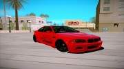 BMW M3 E46 Liberty Walk для GTA San Andreas миниатюра 2