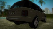 Land Rover Range Rover 2010 for GTA Vice City miniature 3