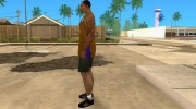 Форма БК Los Angeles Lakers for GTA San Andreas miniature 2