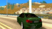 BMW 3 Series F30 Stanced 2012 для GTA San Andreas миниатюра 3
