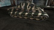 Шкурка для PzKpfw VIB Tiger II зеленый for World Of Tanks miniature 5