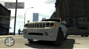 Jeep Grand Cherokee SRT8 для GTA 4 миниатюра 12