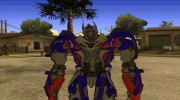 Optimus Prime Skin from Transformers for GTA San Andreas miniature 1