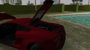 Lamborghini Gallardo LP560-4 2014 for GTA Vice City miniature 6