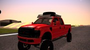 Ford F-350 2010 Lifted Sema Show for GTA San Andreas miniature 1
