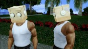 Bot Fan Mask From The Sims 3 для GTA San Andreas миниатюра 1