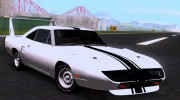 Plymouth Roadrunner Superbird RM23 1970 для GTA San Andreas миниатюра 11