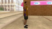 Форма БК Los Angeles Lakers for GTA San Andreas miniature 4