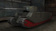 Mustachioed TOG II* skin for World Of Tanks miniature 4