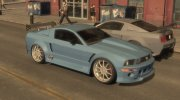 Ford Mustang из NFS MW for GTA 4 miniature 1