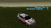 Subaru Impreza WRX STi Skyjacker из DiRT 2 для GTA Vice City миниатюра 1