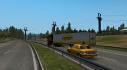 ГАЗ 31105 Такси в трафик v1.1 for Euro Truck Simulator 2 miniature 3