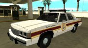 Ford LTD Crown Victoria 1991 New Castle County Police for GTA San Andreas miniature 1