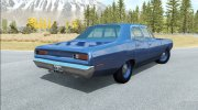 Dodge Coronet sedan (WP41) 1970 v2.2 for BeamNG.Drive miniature 3