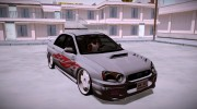 Subaru Impreza WRX STi Modification for GTA San Andreas miniature 1