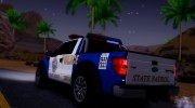 Ford F-150 SVT Raptor 2012 Police version for GTA San Andreas miniature 10