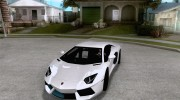 Покрасочные работы для Lamborghini Aventador LP700-4 2011 for GTA San Andreas miniature 1