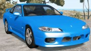 Nissan Silvia Spec-R Aero (GF-S15) 1999 for BeamNG.Drive miniature 3