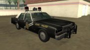 Ford LTD Crown Victoria 1987 New Mexico State Police for GTA San Andreas miniature 2