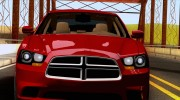Dodge Charger SRT8 2012 Stock Version для GTA San Andreas миниатюра 3