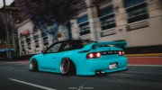 Nissan 180sx 2JZ for GTA 5 miniature 2