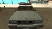 Chevrolet Caprice 1987 US Border Patrol for GTA San Andreas miniature 8