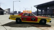 Dodge Monaco 1974 Taxi v1.0 for GTA 4 miniature 5