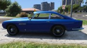 1964 Aston Martin DB5 Vantage for GTA 5 miniature 5
