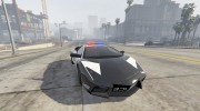 Lamborghini Reventón Hot Pursuit Police AUTOVISTA 6.0 для GTA 5 миниатюра 1