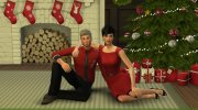 Christmas in Love - Pose Pack for Sims 4 miniature 3