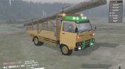 Mitsubishi Colt Diesel 125 PS for Spintires 2014 miniature 2