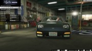 Nissan 240SX Tunable for GTA 5 miniature 5