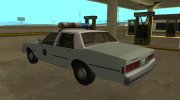 Chevrolet Caprice 1987 US Border Patrol for GTA San Andreas miniature 4