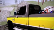 Chevrolet Silverado K-10 2500 1986 for GTA San Andreas miniature 9