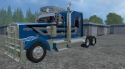 Kenworth W900L for Farming Simulator 2015 miniature 1