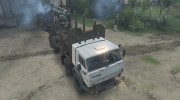 КамАЗ 6350 «Мустанг» Лесовоз for Spintires 2014 miniature 2