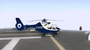 NYPD Eurocopter By SgtMartin_Riggs for GTA San Andreas miniature 5