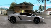 Lamborghini Aventador LP700-4 for GTA San Andreas miniature 5