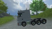 Mercedes-Benz Actros 4160 для Farming Simulator 2013 миниатюра 2
