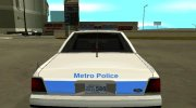 Ford LTD Crown Victoria 1991 Massachusetts Metro Police for GTA San Andreas miniature 7