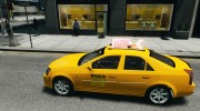 Cadillac CTS-V Taxi for GTA 4 miniature 2