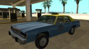 Ford LTD Crown Victoria taxi Downtown Cab Co for GTA San Andreas miniature 1