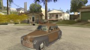 Ford Coupe 1946 Mild Custom для GTA San Andreas миниатюра 1