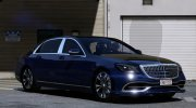 2018 Mercedes-Maybach S650 for GTA 5 miniature 1