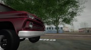 1965 Chevrolet C-10 Stepside Pickup for GTA San Andreas miniature 6