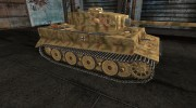 "Шкурка для Tiger ""Танк Михаэля Виттмана. Нормандия, 1944 год"" for World Of Tanks miniature 5"