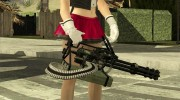 Minigun China Wind для GTA San Andreas миниатюра 2